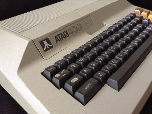 Atari 800, courtesy of Justin Knight